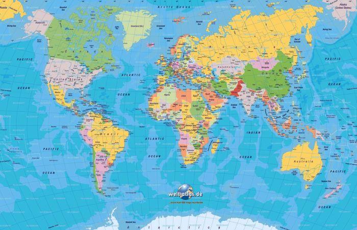 mapamundi | Blog de clase